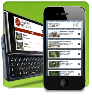 Mobile Websites for Home Builders
